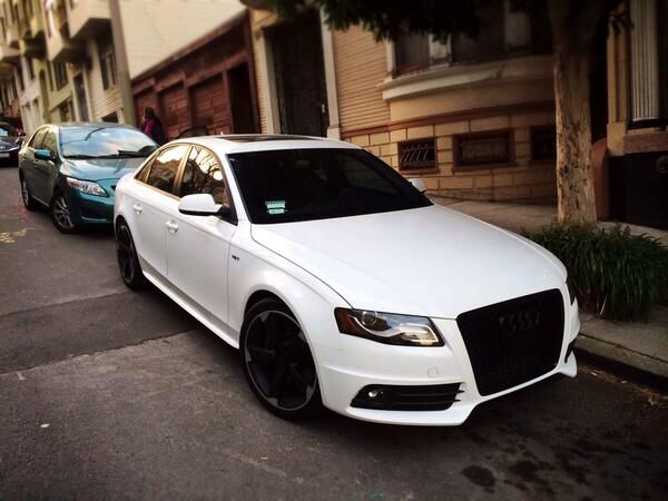 Black And White Audi S4 With Images Audi S4 Small Luxury Cars