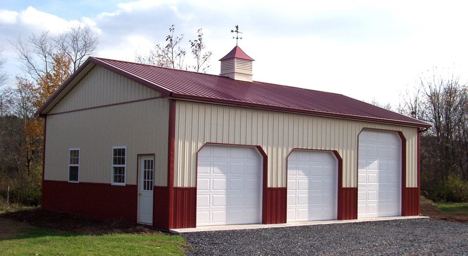 30+x+70+pole+building | 30x40x12 (ID# .007) - Total Cost: $20,449 | Pioneer Pole Buildings