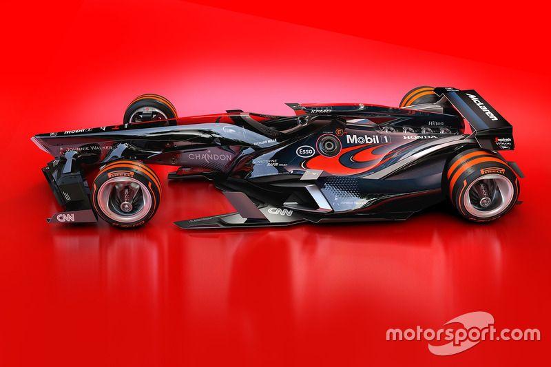 Gallery Fantasy F1 2030 design concepts McLaren & Toro