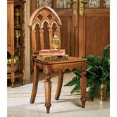 Found it at Wayfair - The Abbey Gothic Revival Side Chair
