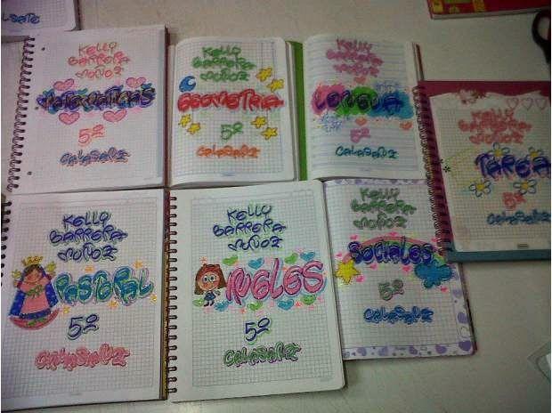 Dibujos Para Portadas De Cuaderno: Resultado De Imagen Para Caratulas Para Cuadernos