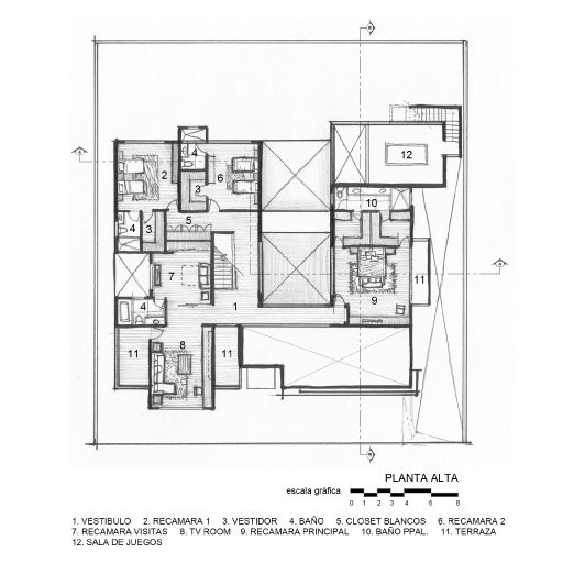 Casa cubo arquitectura en movimiento arquitectura for Planos de casas con piscina