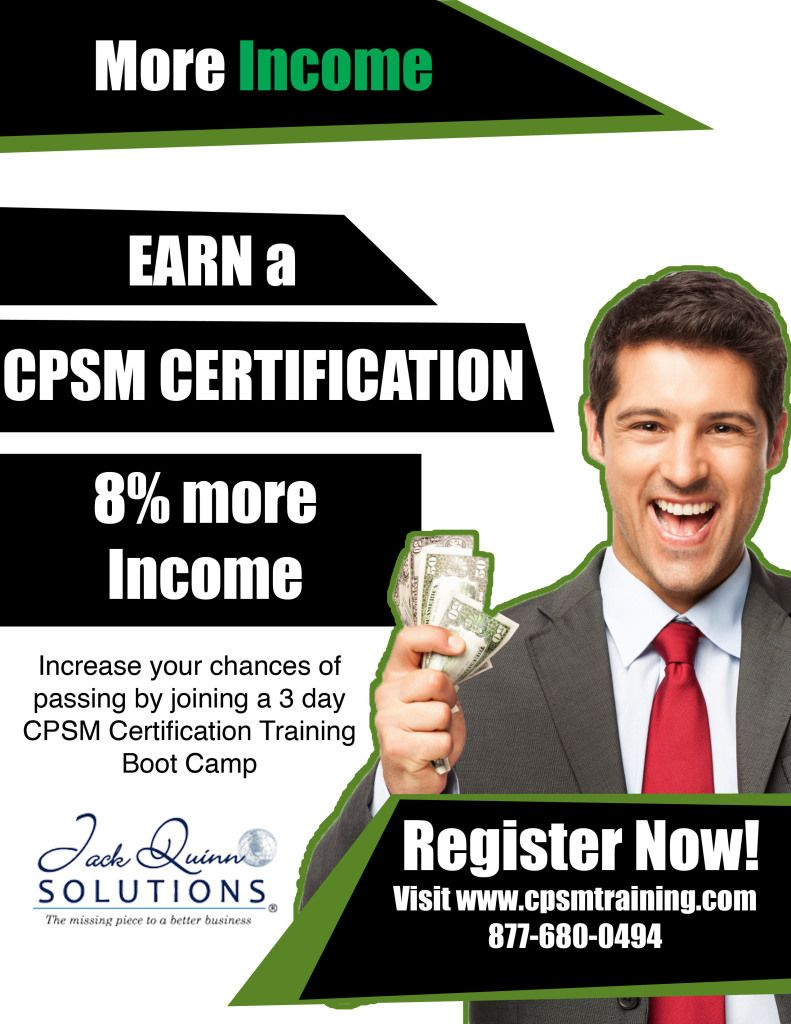 Advancing In The Corporate World Cpsm Certification Stuff