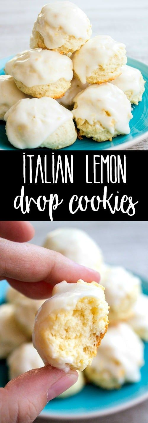 Italian Lemon Drop Cookies are a delicious dessert that's easy to make and SO yummy! With a big b