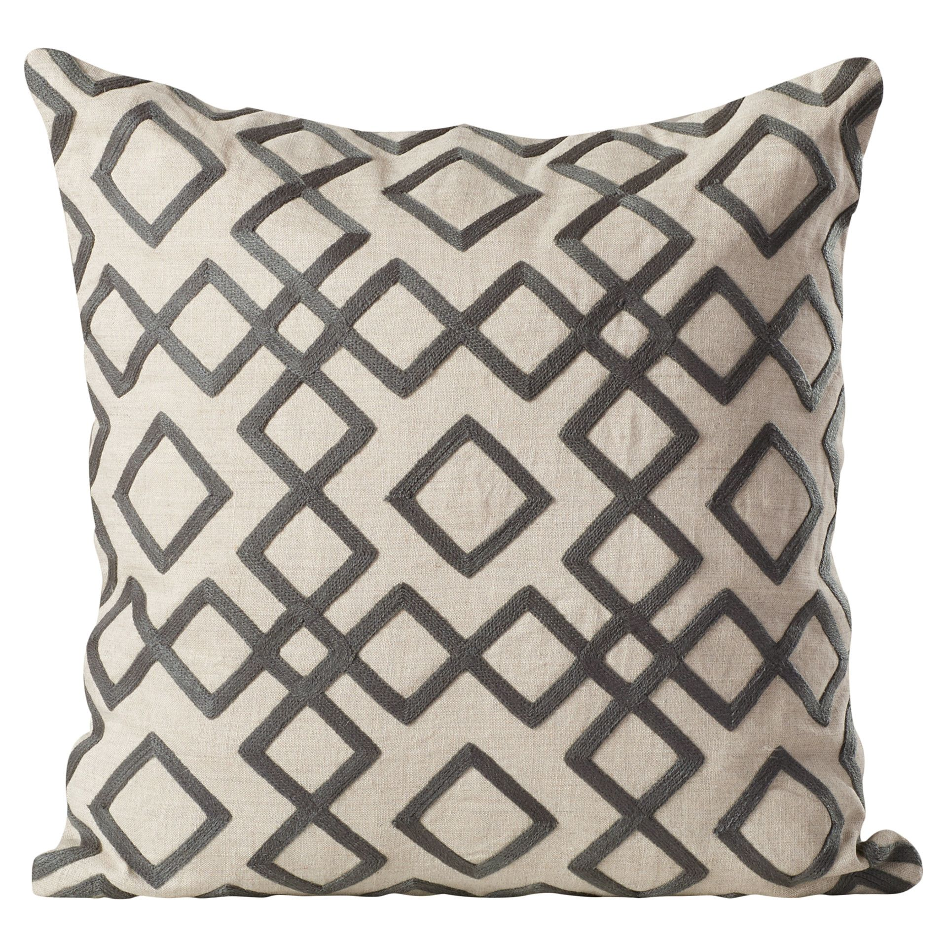Youull love the luka diamond linen throw pillow at wayfair great