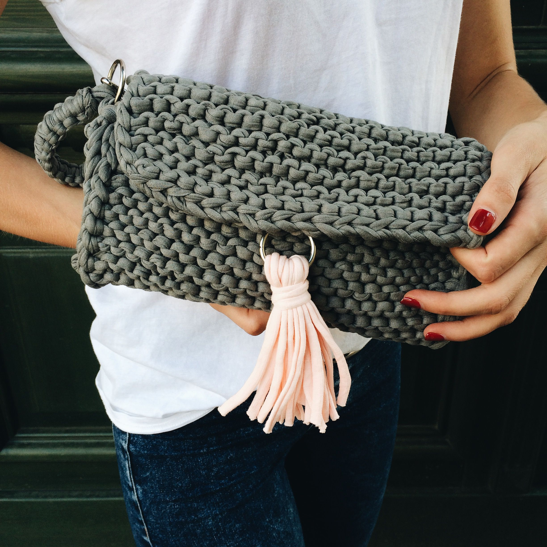 25 Beginner Knitting Projects | Handbag, Free pattern and Summer