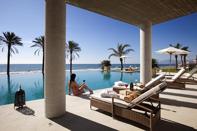 Estrella del mar beach club in marbella spain vincci - Estrella del mar beach club ...