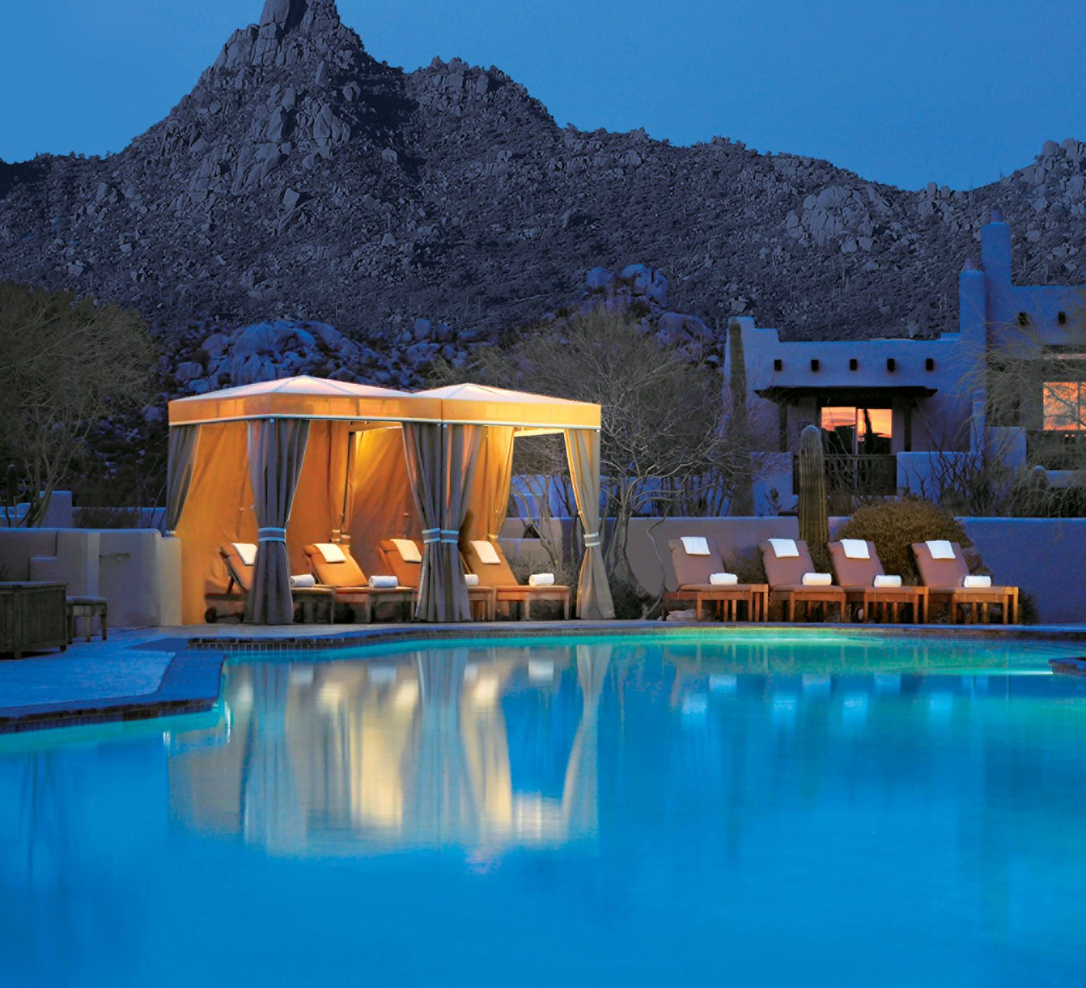 Four Seasons Resort Scottsdale At Troon North Arizona Hotels Jetsetter Guides Lounge Mountains Pool