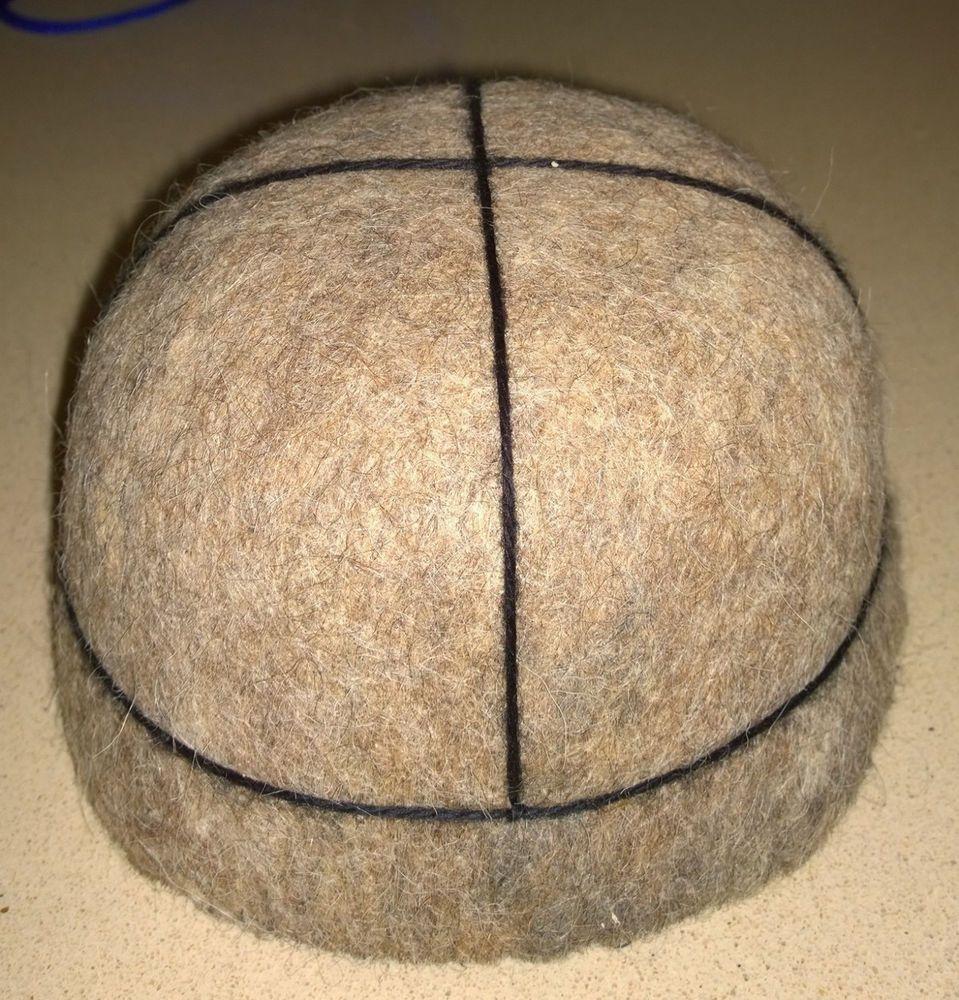 """""""Svanuri Kudi"""" Handmade Georgian Felt Hat, 100% Pure Wool Sheep, 19 cm diameter  #Handmade #Beret"""