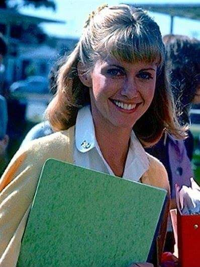 Olivia Newton John As Sandy Grease Movie Olivia Newton John Grease Olivia Newton John