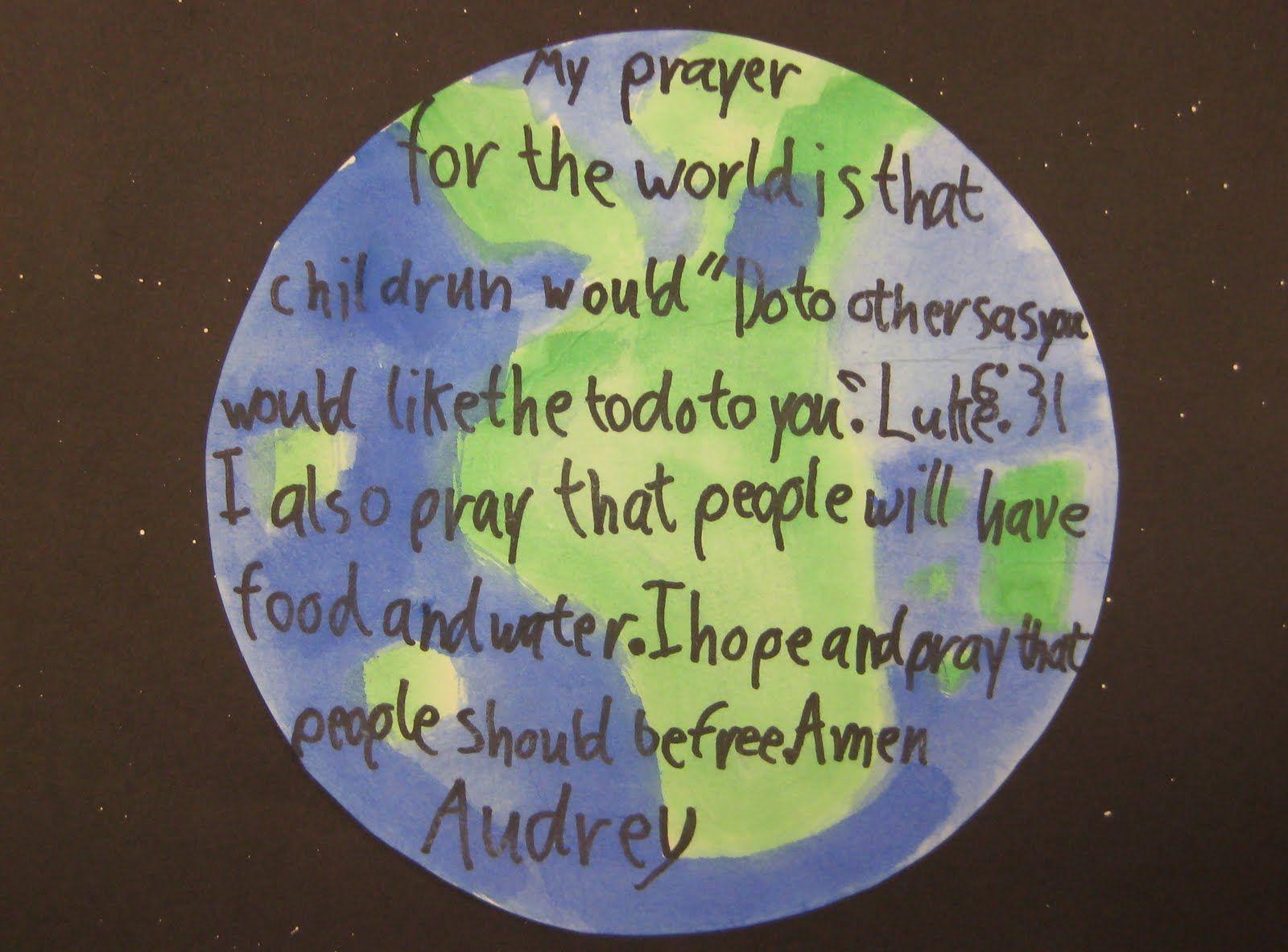 Children S Prayers For The World
