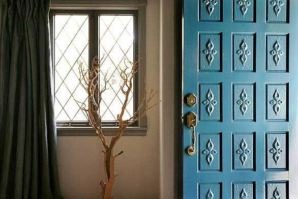 A Punch Of Color Close The Front Door Door Pinterest Front