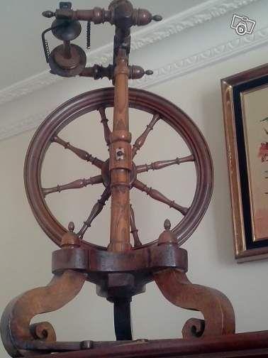 rouet 19e si cle collection paris szov s fon s pinterest rouet filage et. Black Bedroom Furniture Sets. Home Design Ideas