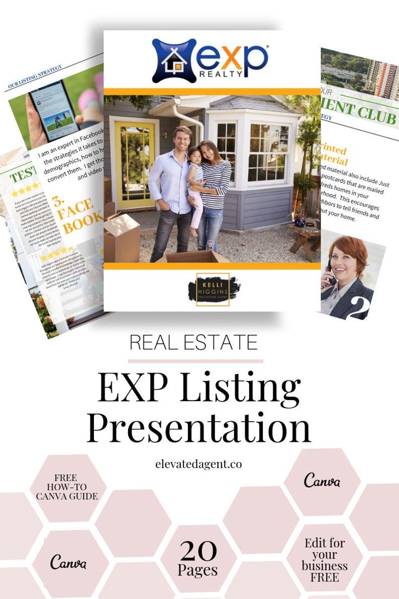 Listing Presentation Packet Exp Exp Real Estate Guide
