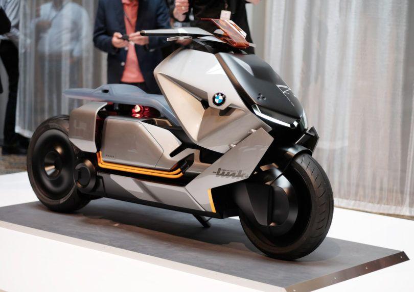 The Bmw Motorrad Concept Link Foretells The Future Of Urban