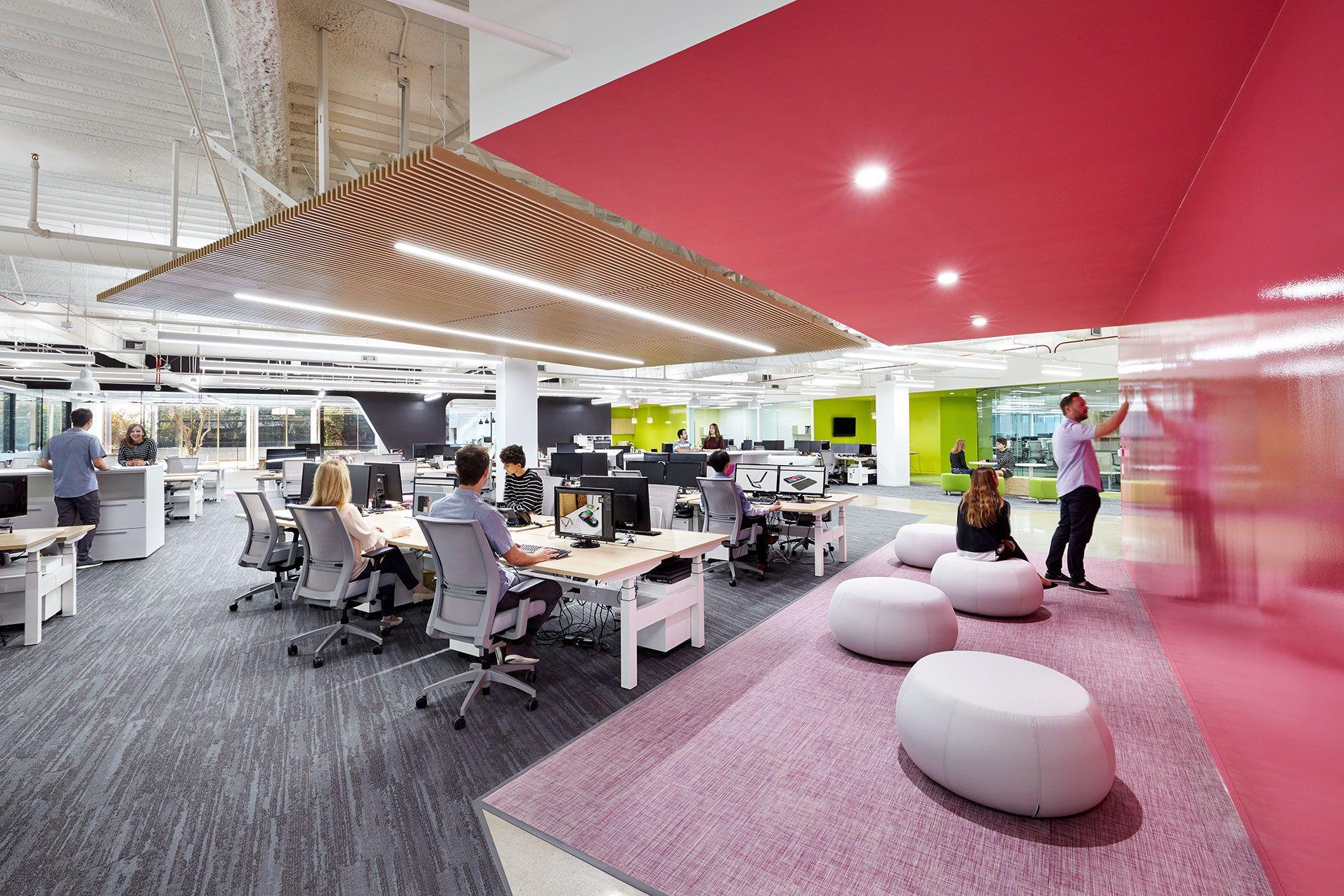 Incipio Group Hq Irvine Ca Office Design Unique Office Spaces Corporate Office Design