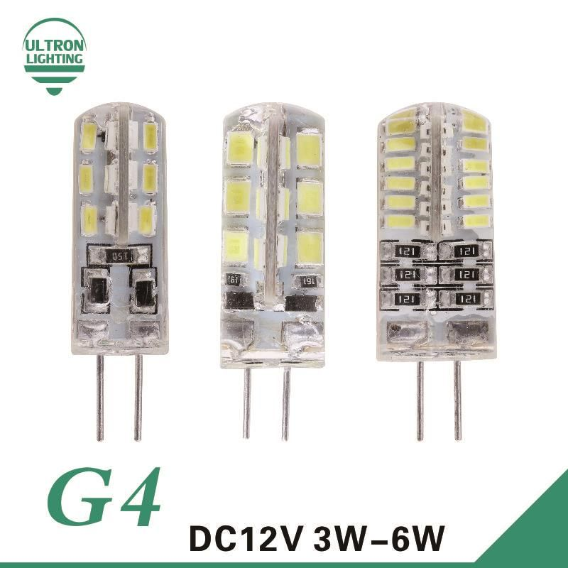 Dc 12v G4 Led Bulb Smd3014 3w 5w 6w 24 48leds G4 Bulb Replace 10w 30w Halogen Lamp Smd2835 G4 Led 360 Beam Angle Lamp Bombillas Led Bombillas Led