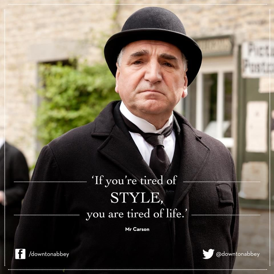 Carson Quotes: Downton Abbey Quotes …