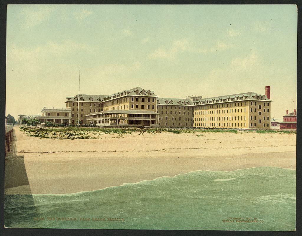 The Breakers Hotel In Palm Beach Florida 1901 New Photo Views William Henry Jackson S Sunshine State Photographs Verve