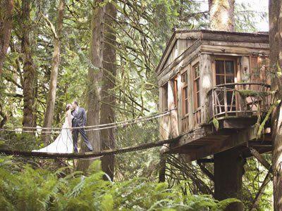 Treehouse Point Weddings Seattle Wedding Venue Issaquah Wa 98027 Treehouse Point Wedding Washington Wedding Venues Wedding Venues Washington State