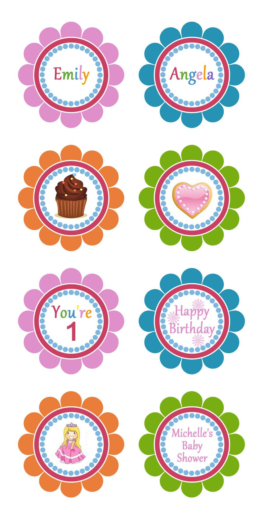 Cupcake Toppers Template By Danbradster On Deviantart Cupcake Toppers Template Cupcake Toppers Printable Cupcake Toppers Free
