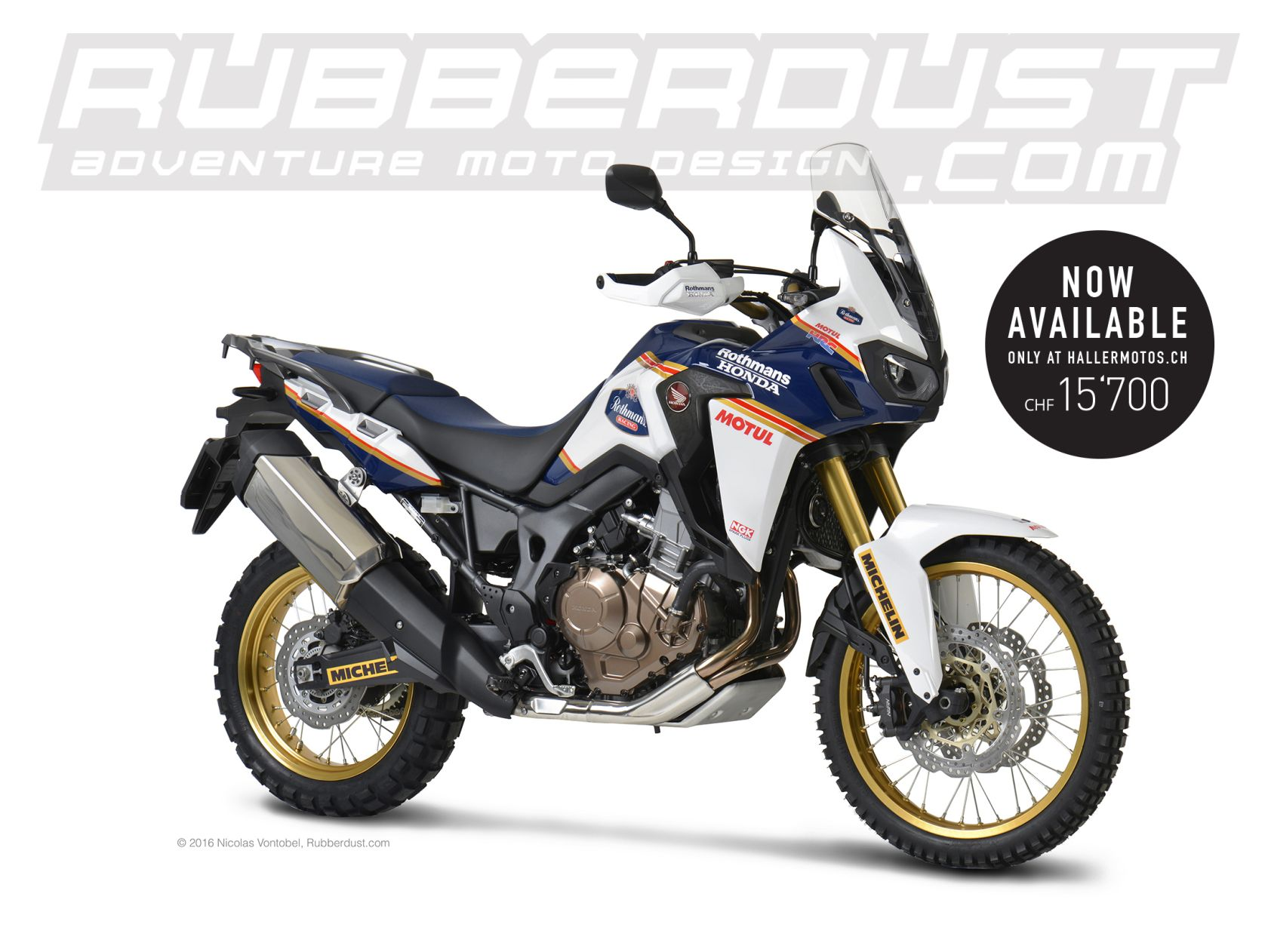 Africa Twin CRF 1000L Rothmans Website