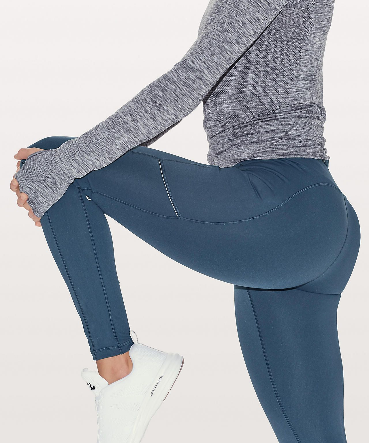 Mineral Blue Tech fleece, Pants for women, Tights