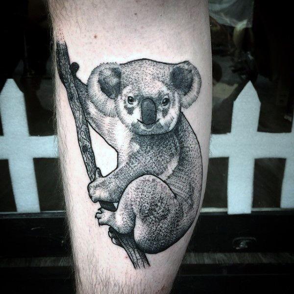 30 Koala Tattoo Designs For Men Wild Animal Ink Ideas Tattoo