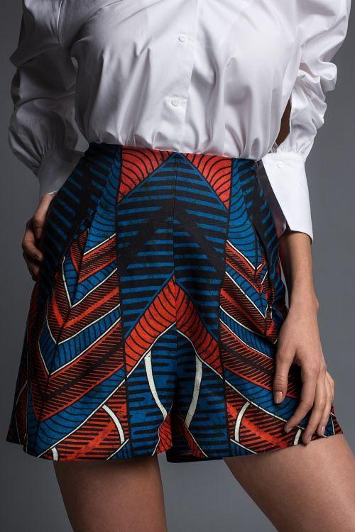 Hosenrock - Culottes - gratis Schnittmuster für Damen | Nähtalente