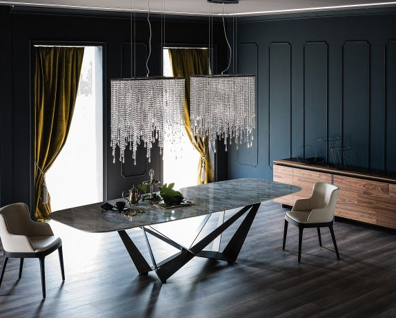 Stunning Dining Table Designed With The Kind Of Italian Style And Sophistication Synonymous Cattelan Italia