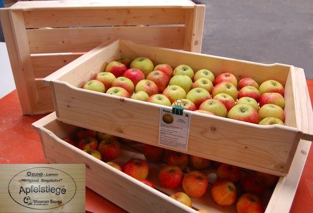 Lagerung Von äpfeln
