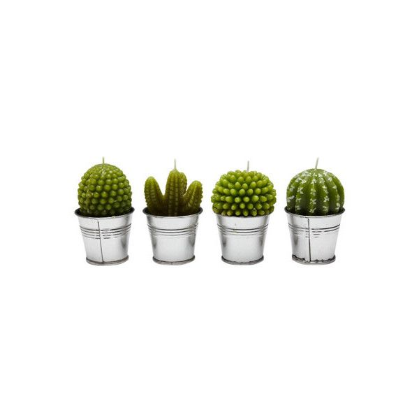 BILLABONG DESERT CACTUS CANDLE PACK CACTUS ($30) ❤ liked on Polyvore