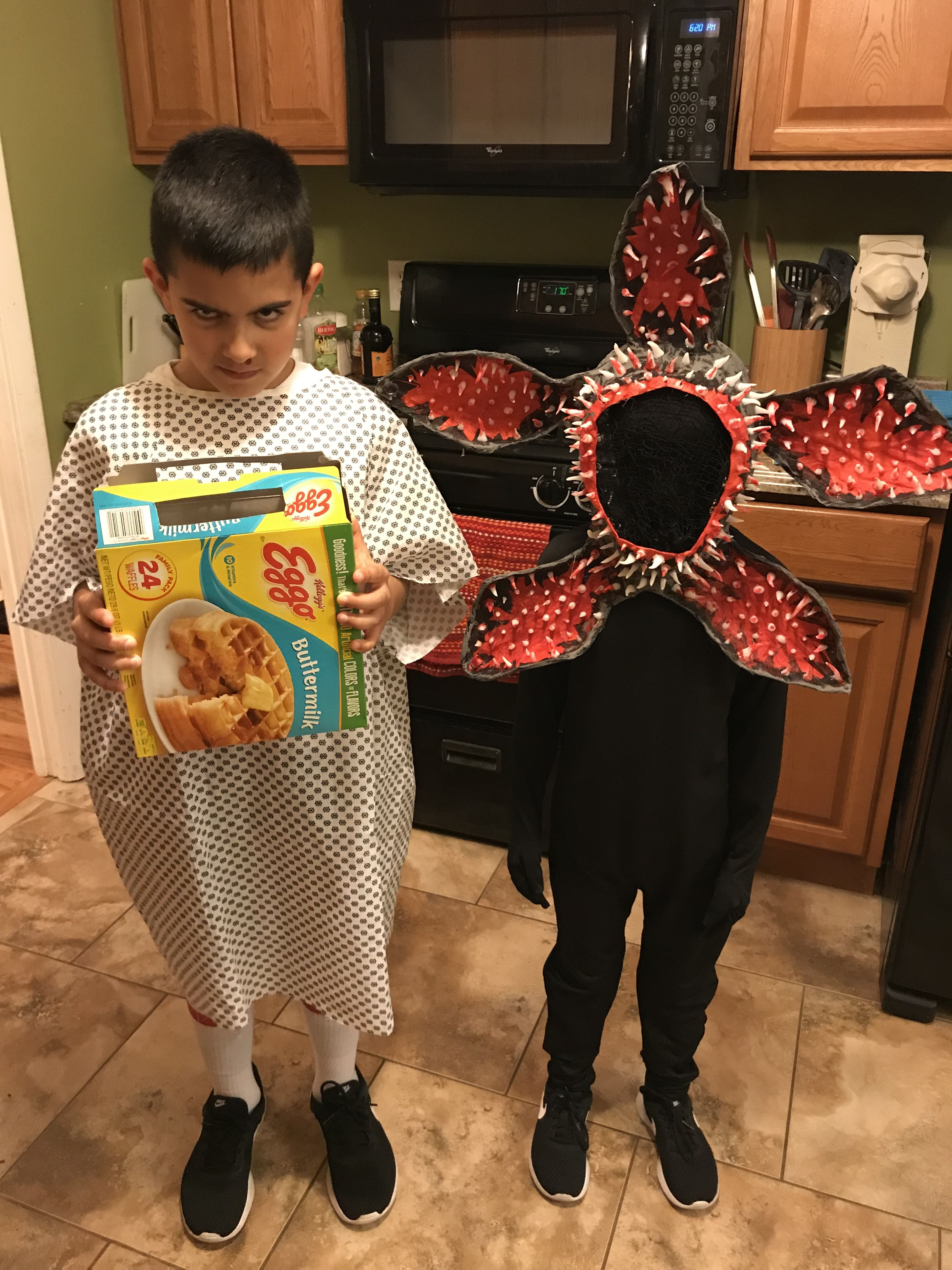 Stranger Things Costume Eleven And The Demogorgon