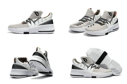 huge selection of 8d061 c2f74 2018 Discount Adidas Dame 3 BHM 2017 Black History Month Damian Lillard  Sneakers