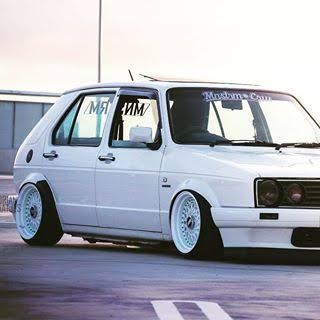 vw velocity golf with bbs mags google search potential baby pinterest golf golf mk2 and. Black Bedroom Furniture Sets. Home Design Ideas
