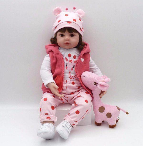 Promoção Boneca Bebê Reborn Menina GIOVANA | Bebes de