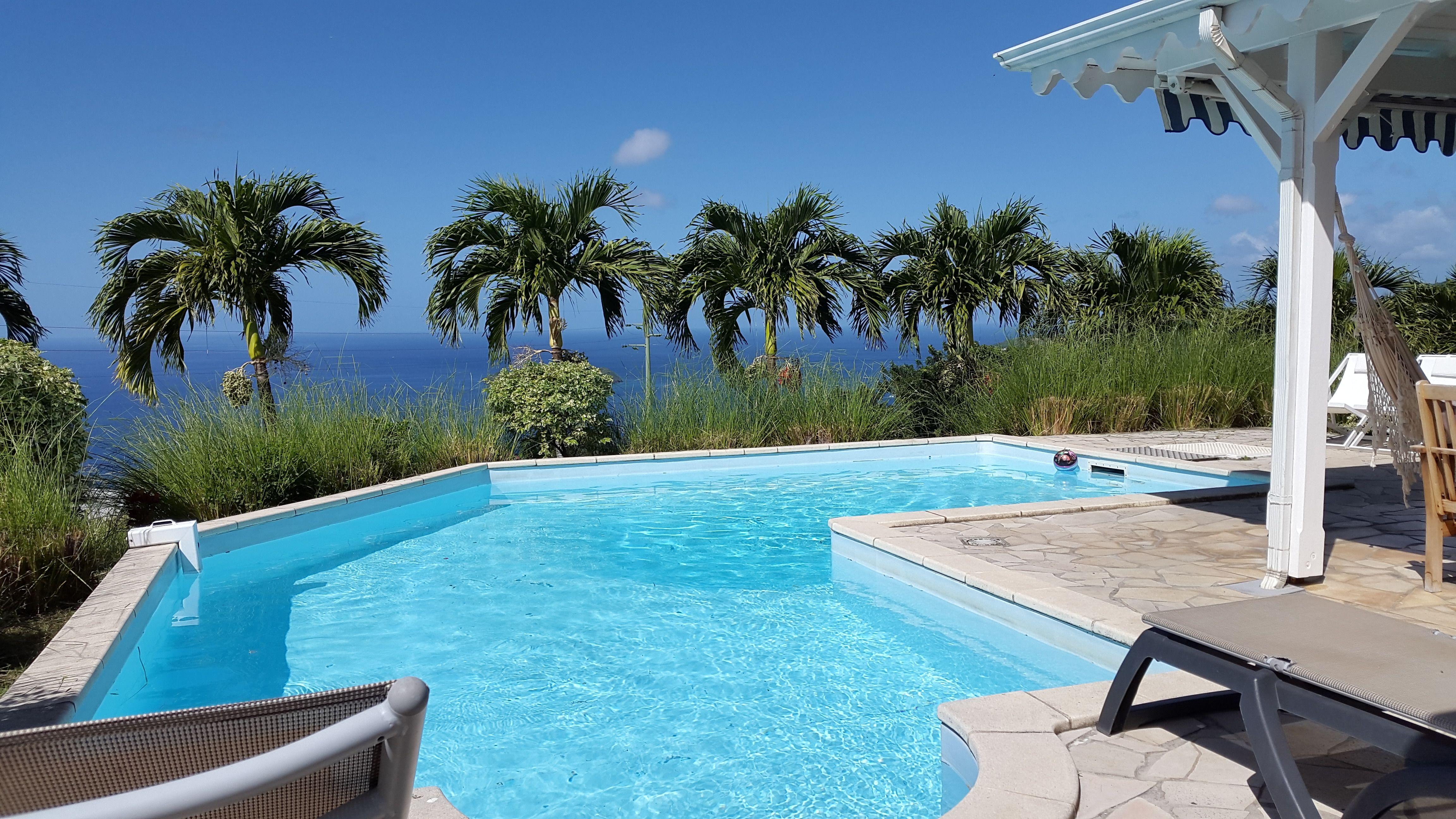 Tifle villa louer bouillante guadeloupe piscine - Bungalow guadeloupe piscine privee ...