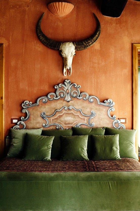 Terracotta Bohemian House Decor Beautiful Bedrooms