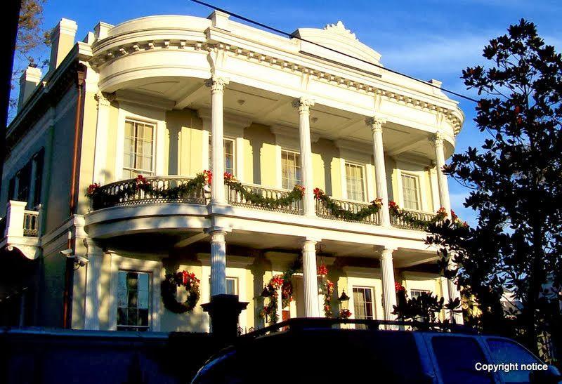 Garden District - New Orleans, Louisiana - Doric Columns ...