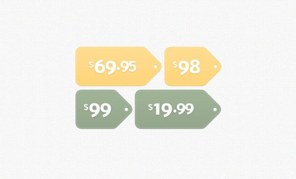 Free Price  Sale Tag Psd Templates For Ecommerce Website