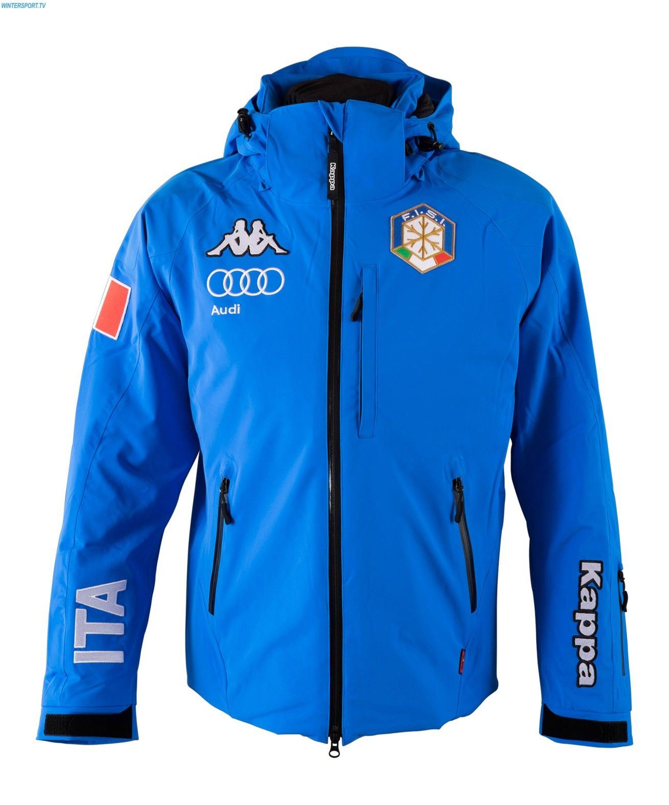 Kappa Men Italian Alpine Team Fis Jacket Azzurro Italia
