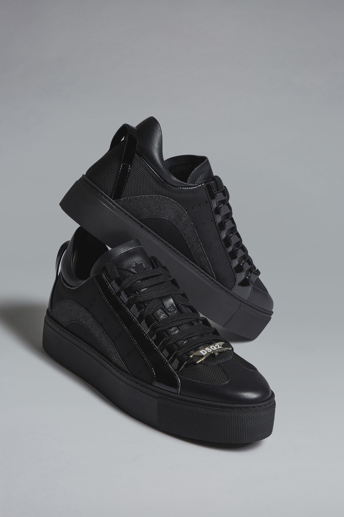 Dsquared2 551 Sneakers Sneakers For Women Official Store Sneakers Black Sneakers All Black Sneakers