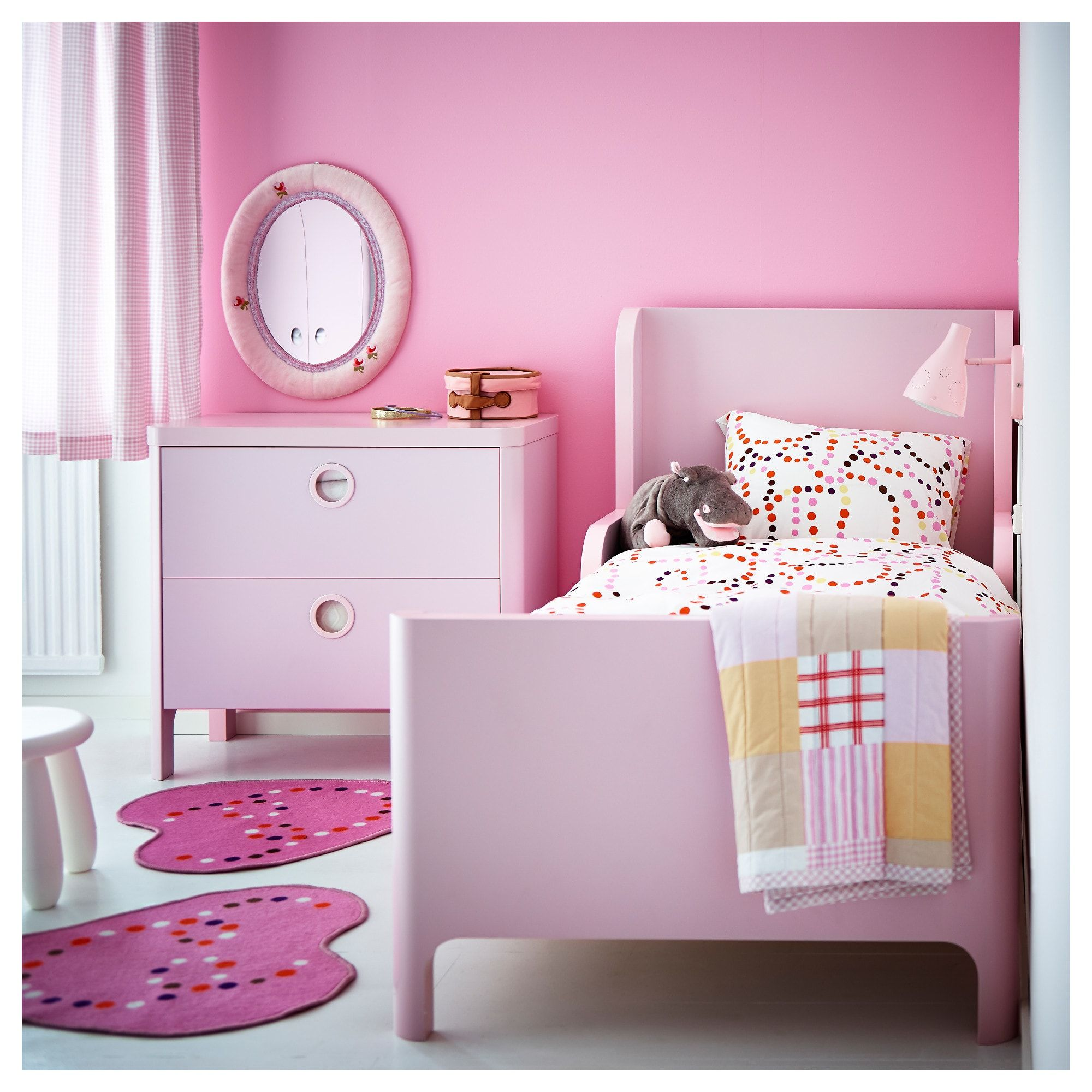 Busunge 2 Drawer Chest Light Pink 31 1 2x29 1 2 Childrens