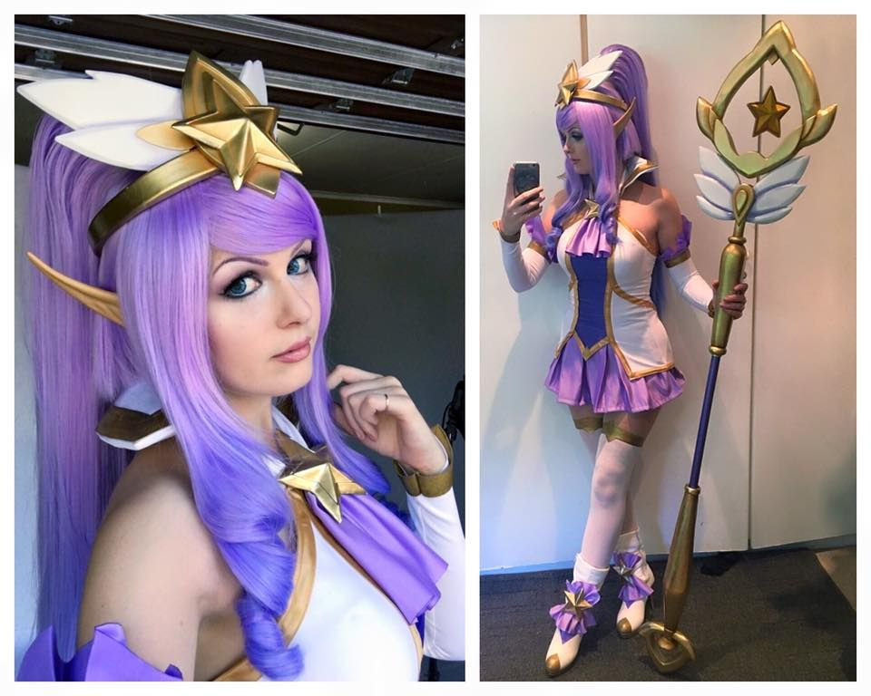 League Of Legends: Beautiful Star Guardian Janna Cosplay