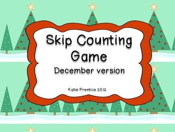 Skip counting game for december skip counting counting games skip counting game for december sciox Image collections