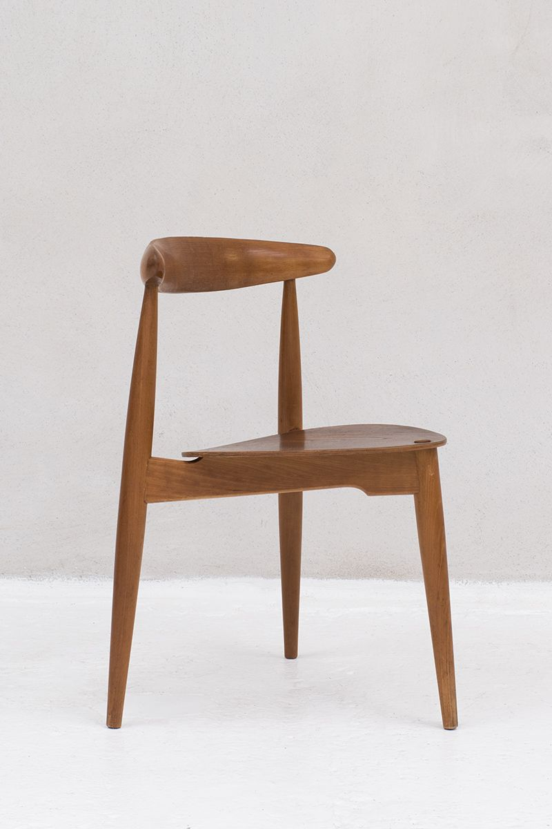 Charmant Set Of 14 U0027heartu0027 Chairs, Model FH4103, Designed By Hans Wegner For Fritz  Hansen And Raymor In Denmark