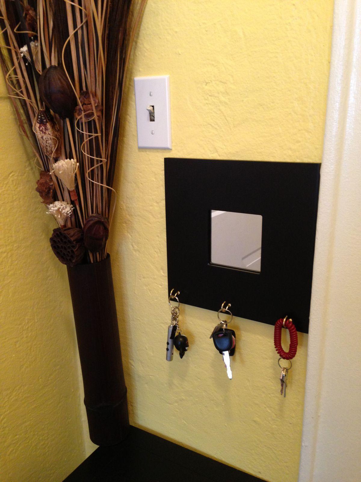 DIY Key holder | Diy key holder, Wooden frames and Key