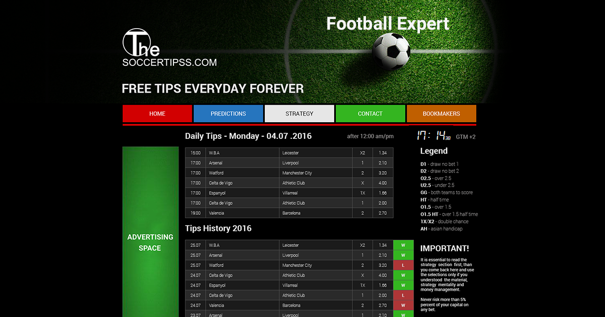 Champions League, Football predictions, Free Tips, Professional tips