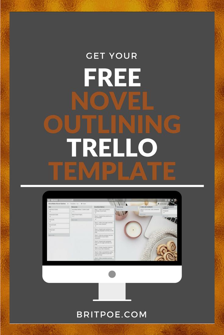 How to outline your novel using the snowflake method freelancing novel outlining writing plot snowflake method trello board character development maxwellsz