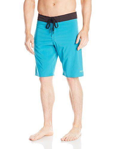 Matix Mens Ridley Boardshort Teal 36 * View the item in details by clicking  the VISIT